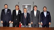 Beşiktaş'ta büyük buluşma