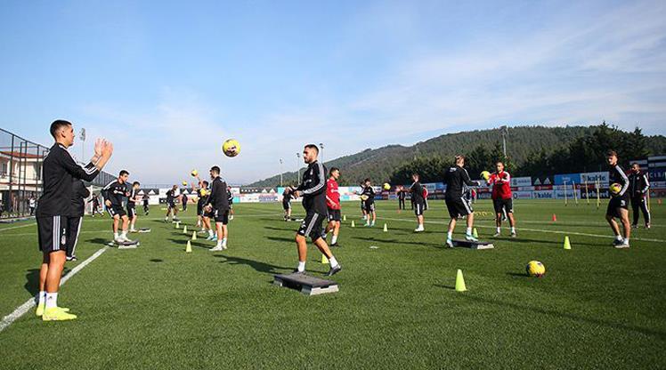 Beşiktaş'ta Konyaspor maçı hazırlıkları
