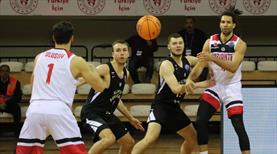 Gaziantep son saniye basketiyle kazandı