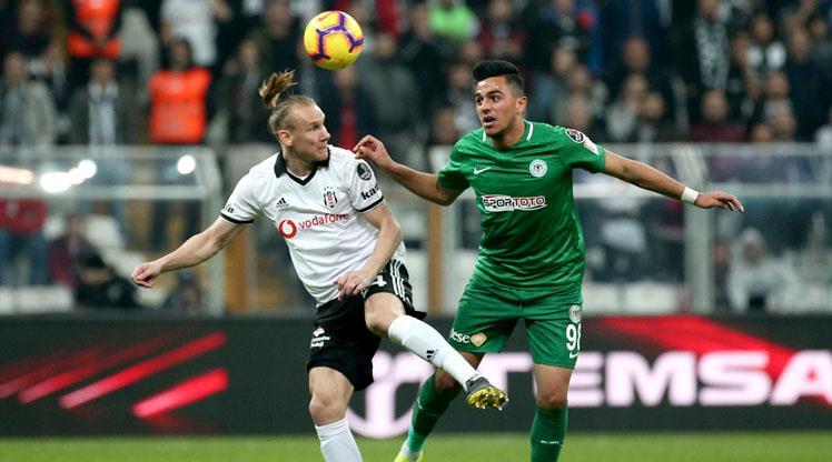 Beşiktaş: 20-Konyaspor: 4