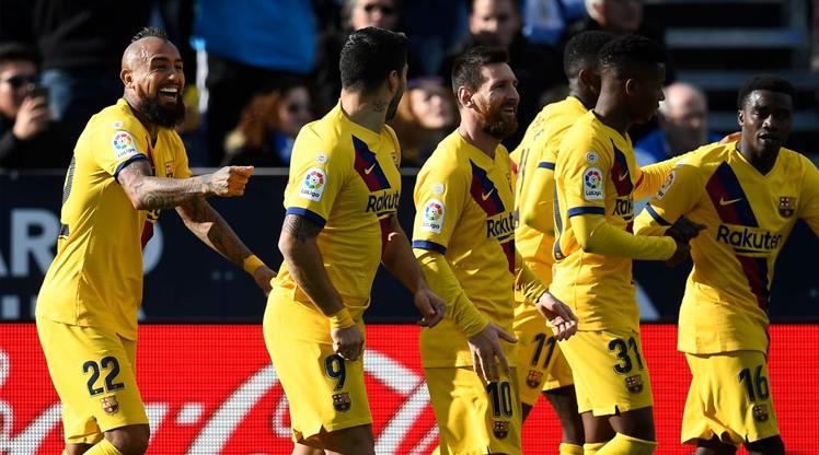Barcelona ikinci yarıda hayata döndü