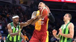 Galatasaray DS evinde farklı kazandı