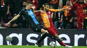 Galatasaray - Club Brugge maçından en özel kareler