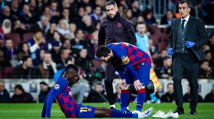 Barcelona'da şok! Fransız yıldız 10 hafta yok