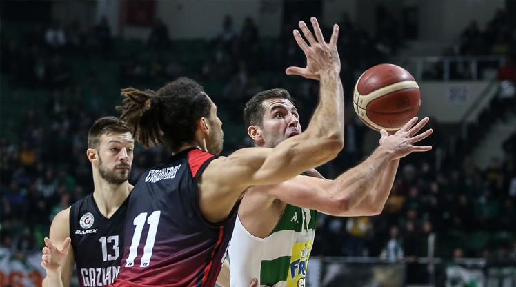 Gaziantep Basketbol deplasmanda kazandı