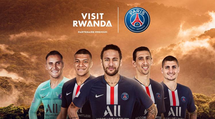 Paris Saint-Germain ile Ruanda iş birliği yaptı