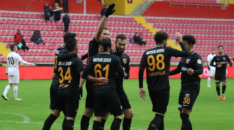 İM Kayserispor: 3 - Manisa FK: 2
