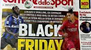 Roma ve Milan'dan Corriere dello Sport'a yaptırım