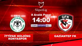 İH Konyaspor - Gaziantep FK (CANLI)