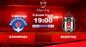 Kasımpaşa'nın konuğu Beşiktaş