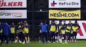 Fenerbahçe'de Mevlüt ve Moses özel çalıştı