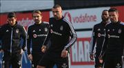Beşiktaş derbiye hazırlanıyor
