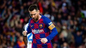 Messi'den tarihi bir başarı daha