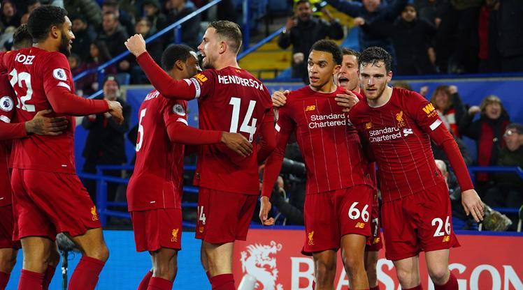 Liverpool'dan gol şov