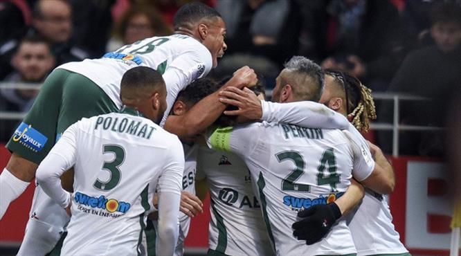 Saint-Etienne müthiş golle kazandı! (ÖZET)