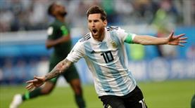 Messi 9 ay sonra milli takımda