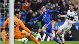 Fulham'a Leicester City de acımadı! (ÖZET)