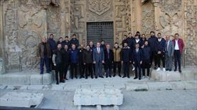 Sivas 'Anadolu'nun Elhamrası'nı gezdi