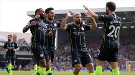 Manchester City'ye tek devre yetti (ÖZET)