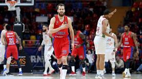 CSKA, Baskonia'yı dağıttı (ÖZET)