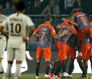 Montpellier şampiyonu devirdi (ÖZET)