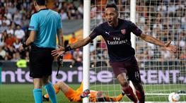 Aubameyang şov yaptı, Arsenal finale uçtu (ÖZET)