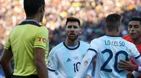 Messi isyan etti: