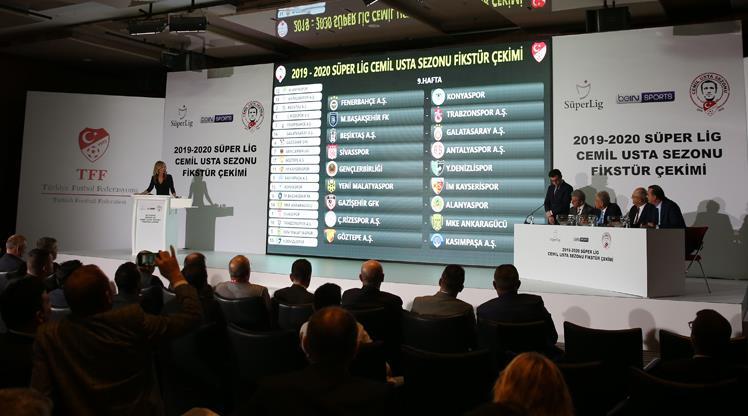 Süper Lig Cemil Usta sezonunda fikstür çekildi