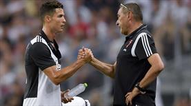 Sarri'den Ronaldo'ya açık çek