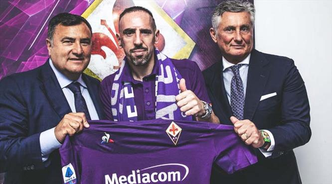 Frank Ribery resmen Fiorentina'da