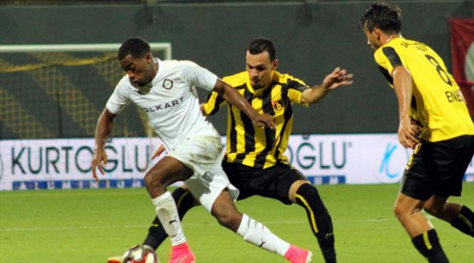 İstanbulspor: 2 - Altay: 2 (ÖZET)