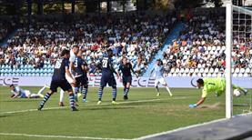 Lazio 90'da tuş oldu (ÖZET)