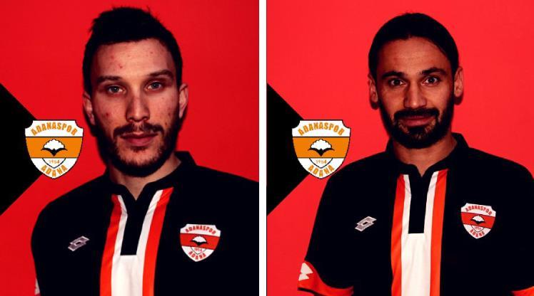 Adanaspor'da iki transfer birden