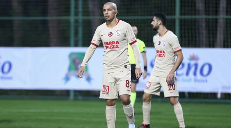 Galatasaray'ı Feghouli taşıdı