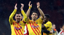 Barcelona, Real Madrid'i tahtından etti