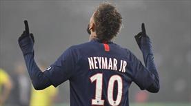 Neymar, kulüp rekoruna ortak oldu