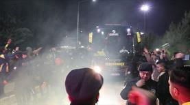 Fenerbahçe'ye Antep'te coşkulu karşılama