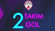 2 takım, 2 gol: Aytemiz Alanyaspor - Hes Kablo Kayserispor