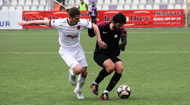 Keçiörengücü - Eskişehirspor: 0-1 (ÖZET)