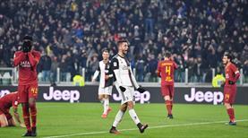 Juve, Roma'nın fişini ilk yarıda çekti