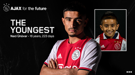 Ajax'ın tarihine geçen Türk