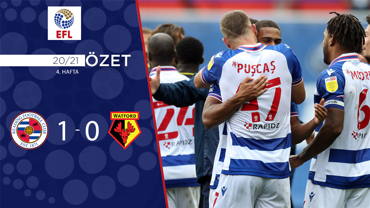 ÖZET | Reading 1-0 Watford