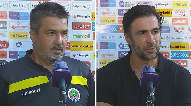 A.Alanyaspor-A.Hatayspor maçının ardından