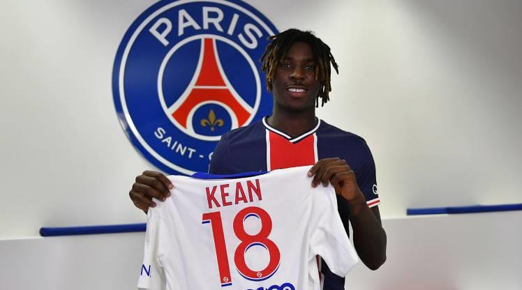 PSG, Everton'dan Kean'i kiraladı