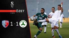 ÖZET | Ankaraspor 1-1 Giresunspor