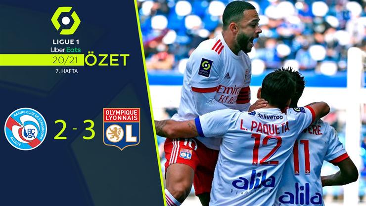 ÖZET | Strasbourg 2-3 Lyon