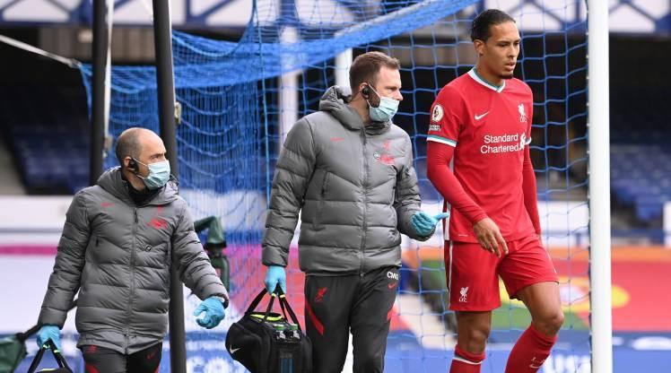 Van Dijk'ten Liverpool'a kötü haber