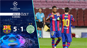 ÖZET | Barcelona 5-1 Ferencvaros