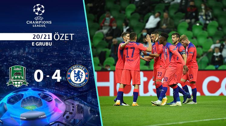 ÖZET   Krasnodar 0-4 Chelsea