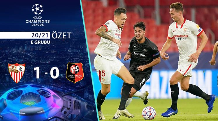ÖZET   Sevilla 1-0 Rennes